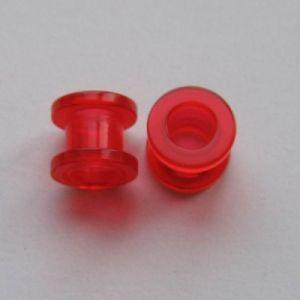 Akrylátovej šroubovací tunel - červenej