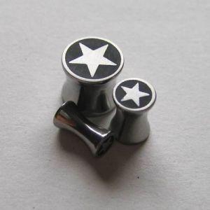 Ocelovej plug s hvězdou