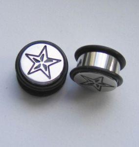 Ocelovej plug s gumičkama