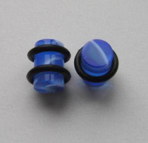 Akrylátovej plug žíhanej - modrá barva